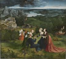 Las tentaciones de San Antonio Abad, hacia 1490.