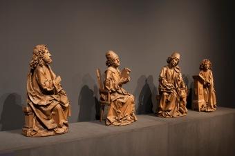 Detalle de la exposición. Fuente: Museo Nacional de Escultura.