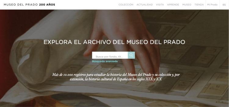 Archivo Museo del Prado