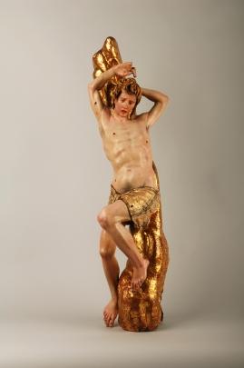 Alonso Berruguete (c. 1489-1561), San Sebastián, c. 1526-1532. Museo Nacional de Escultura (Valladolid)
