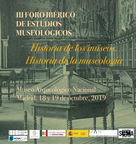 III FORO IBÉRICO MUSEOLOGÍA_CARTEL