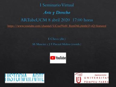 Presentación I seminario Arte y Derecho (1)
